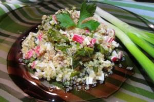 Quinoa cu surimi