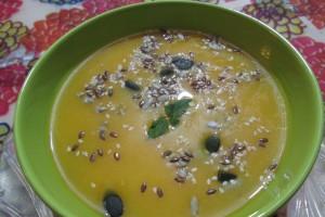 Supa crema cu dovleac